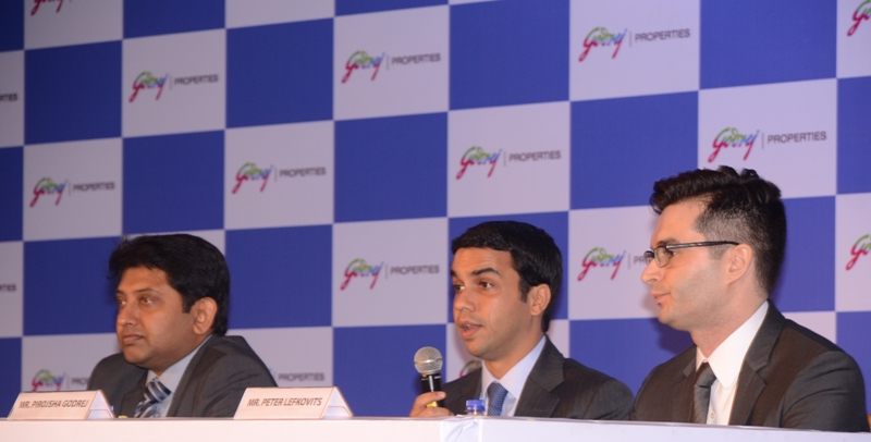 Godrej Press Launch, India real estate news, Indian realty news, Property new, Home, Policy Advocacy, Activism, Mall, Retail, Office space, SEZ, IT/ITeS, Residential, Commercial, Hospitality, Project, Location, Regulation, FDI, Taxation, Investment, Banking, Property Management, Ravi Sinha, Track2Media, Track2Realty