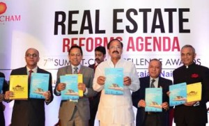 ASSOCHAM, Venkaiah Naidu, Union Government, Union Urban Development Minister, Indian real estate news, Indian realty news, India property market, Investment in real estate, Track2Media Research, Track2Realty