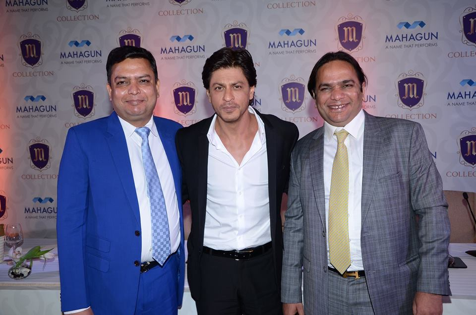 Dheeraj Jain, Mahagun, Shahrukh Khan, Brand Ambassador, Luxury Residences, India real estate news, Indian realty news, India Property Market, Track2Media Research, Track2Realty