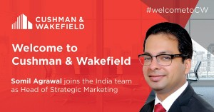 Somil Agrawal, Cushman & Wakefield, India real estate news, Indian property market news, Investment in Indian real estate, Track2Realty, Track2Media Research