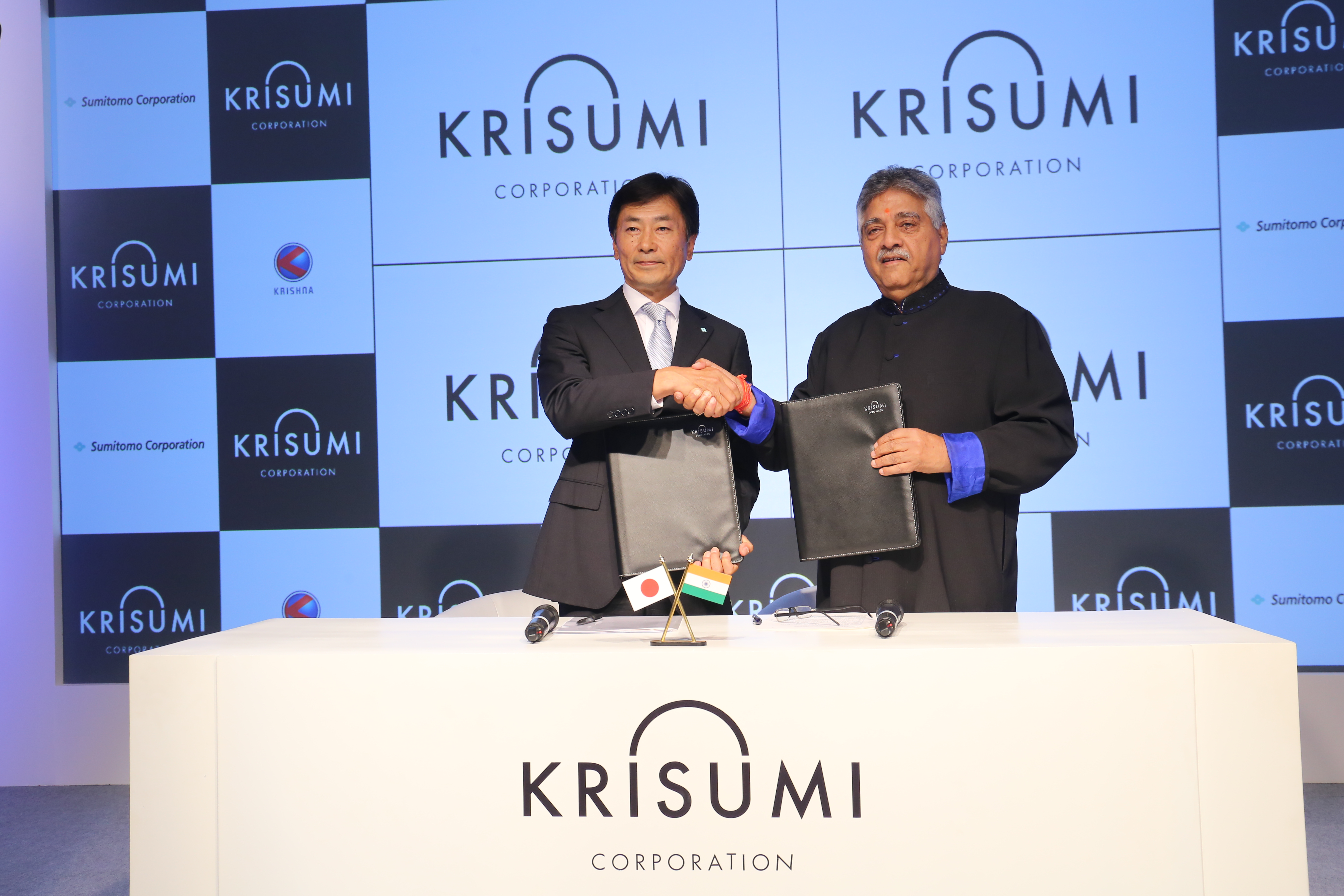 Sumitomo Corp, Krishna Group announce first Indo-Japan real estate