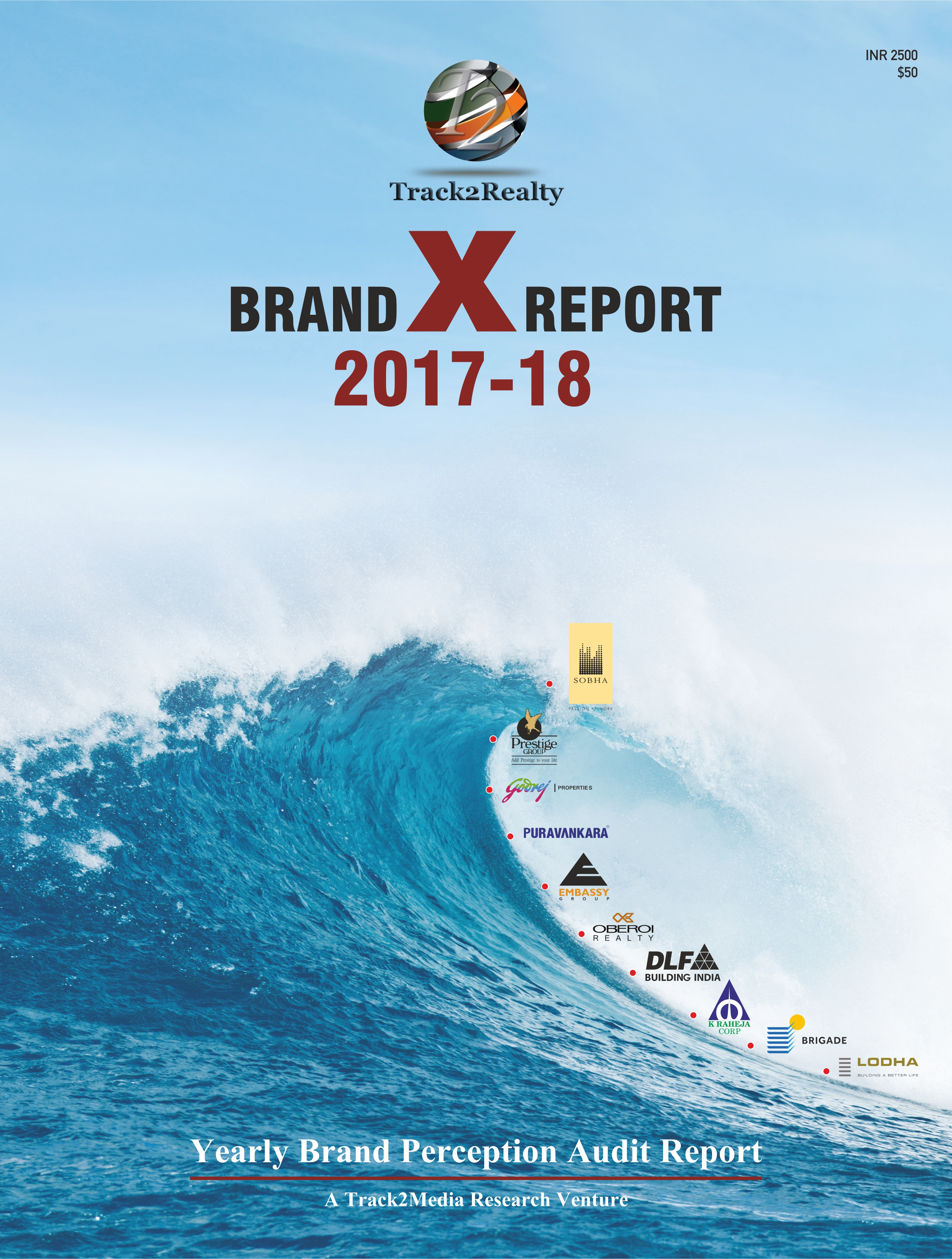 Track2Realty BrandXReport 2017-18, Brand X Report, Brand rating of Indian real estate, Brand performance of Indian real estate developers, Best builders in India, Best brands of Indian real estate, Brand Trust of Indian real estate, Bangalore developers top brand leadership, India real estate news, Indian realty news, Real estate news India, Indian property market news, Investment in Indian property, Track2Realty, Realty Fact, Realty Plus, Realty Myths, Realty Nxt