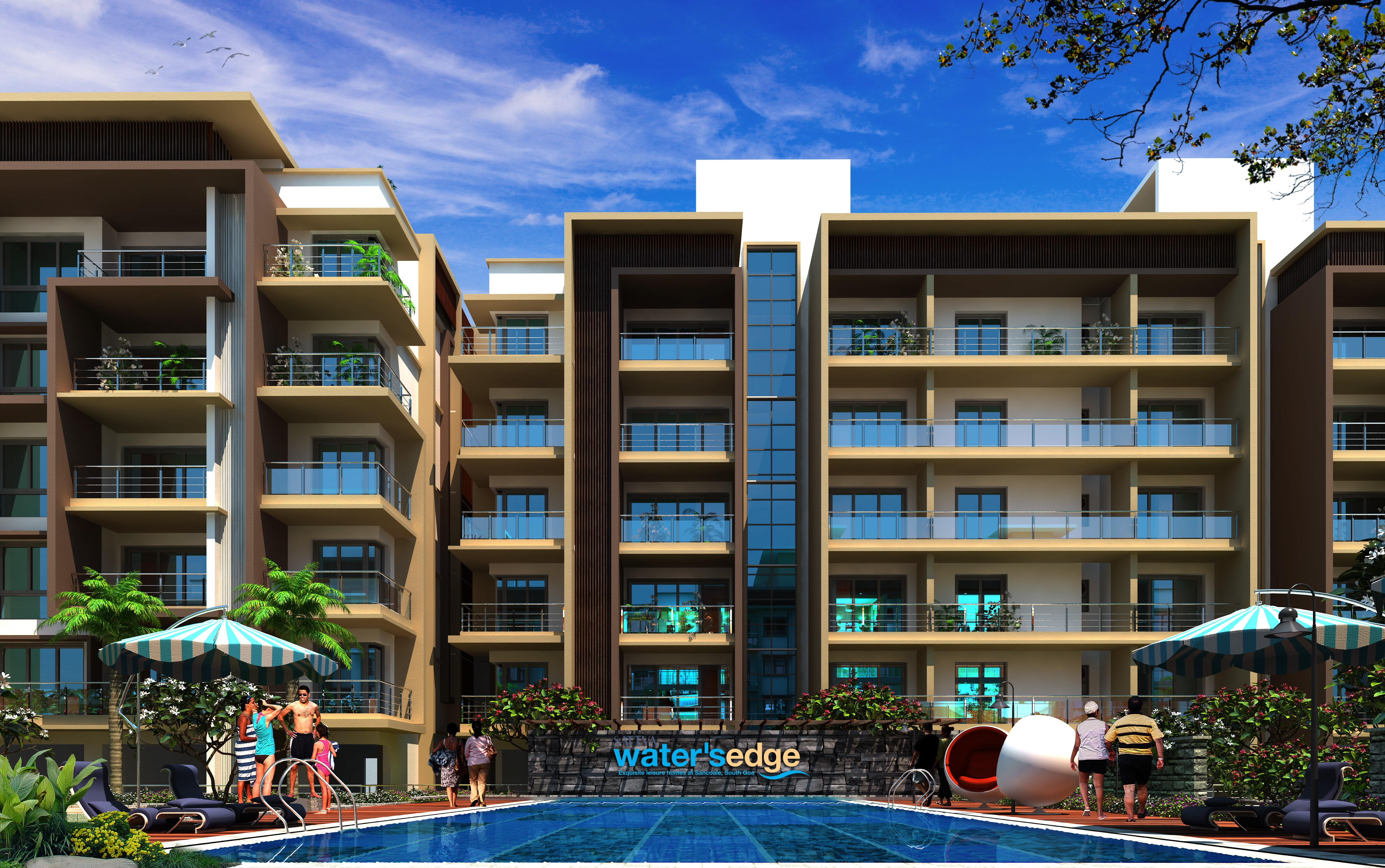 Salarpuria Sattva Water's Edge, Goa property launches, Goa projects, Housing market in Goa, Real estate in Goa, Investment in Goa property, India real estate news, Indian realty news, Real estate news India, Indian property market news, Track2Realty